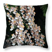 Oncidium Twinkle Fragrance Fantasy Throw Pillow