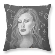 One And Only Throw Pillow by The Art With A Heart By Charlotte Phillips
