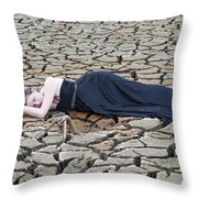 One Beauty Throw Pillow