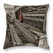 One Beer Throw Pillow
