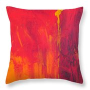 One Big Coverup Throw Pillow