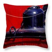One Brass Bell Throw Pillow