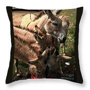 One Bucket Throw Pillow
