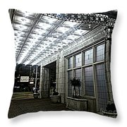 One Bulb Is Out Throw Pillow