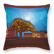 One Cloudy Day Throw Pillow