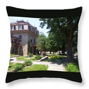 One Corner In Fall River Throw Pillow