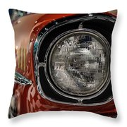 One-eyed Chevy Throw Pillow