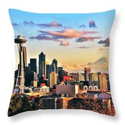 One Fine Skyline Throw Pillow
