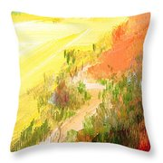 One Fine Spring Day Throw Pillow