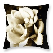 One Fragile Rose Throw Pillow