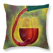 One Good Pour Deserves Another Throw Pillow