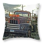 One Headlight International Throw Pillow