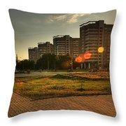 One Hot Evening Throw Pillow