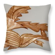 One Hungry Fish Throw Pillow