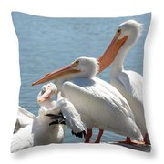 One In Every Crowd Throw Pillow