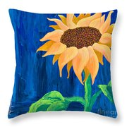 One In The Sun Throw Pillow