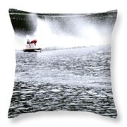 One In Turn Two 24418 Throw Pillow