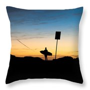 One Last Look Throw Pillow by John Daly