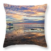 One Last Ride Throw Pillow by Julianne Bradford