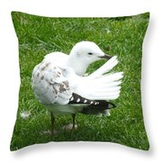 One Less To Worry About  Throw Pillow