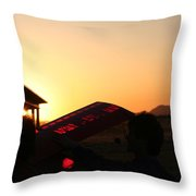 One More Flight Throw Pillow