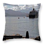 One More Ship Throw Pillow