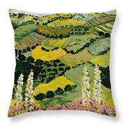 One More Smile Throw Pillow
