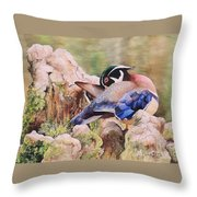 One More Spot. Sold Throw Pillow