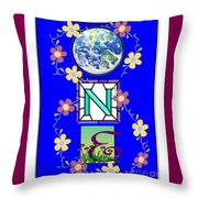 Universal One-ness Throw Pillow