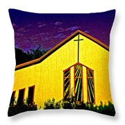 One Of Many Doors . . . Of The Lord Throw Pillow