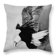One Of My Eagles Throw Pillow