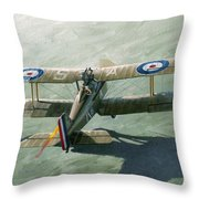 One Of The Yanks Throw Pillow