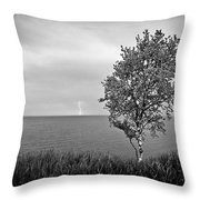 One On One  Throw Pillow