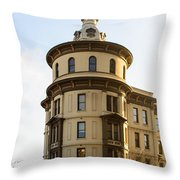 One Pacific Avenue Throw Pillow