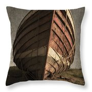 One Proud Boat Throw Pillow