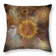 One Ring To Rule Them All - Square Version Throw Pillow