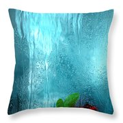 One Rose Left Throw Pillow