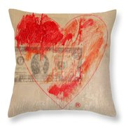 One Series 4 - Misery Is A Company Throw Pillow