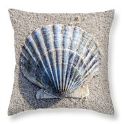 One Shell Throw Pillow
