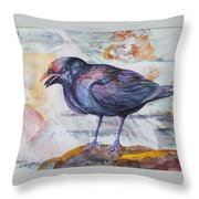 One Sided Conversation Throw Pillow