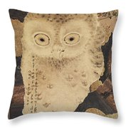 One So Wise Throw Pillow