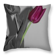 One Stands Alone Throw Pillow