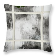 One Stormy Night Throw Pillow