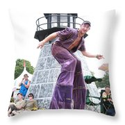 One Tall Dude Throw Pillow