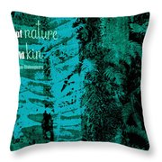 One Touch Throw Pillow