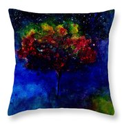 One Tree In The Universe Throw Pillow