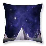 One Tribe Throw Pillow