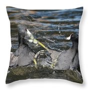 One Two Punch Throw Pillow