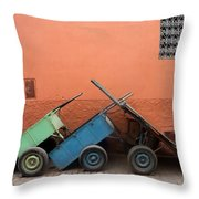 One Two Three Marlenas Throw Pillow
