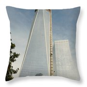 One W T C  Throw Pillow